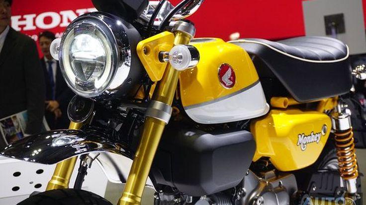 [Tokyo2017] Honda Monkey125 Concept ตำนานมินิไบค์จะกลับมาเฉิดฉายอีกครั้ง