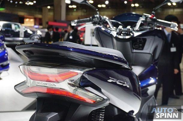 [Tokyo2017] ฮอนด้าลุยขายรถมอเตอร์ไซด์ไฟฟ้า PCX Hybrid และ PCX EV ในภูมิภาคเอเชียและญี่ปุ่นปีหน้า