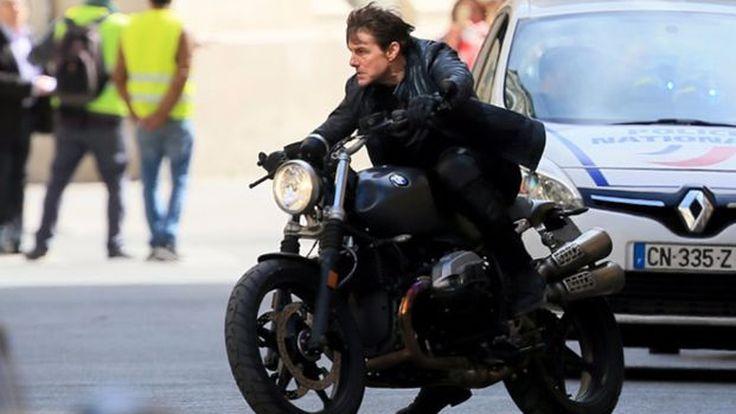 ทอม ครูซ ควบ BMW R Nine T บู๊ระห่ำใน Mission Impossible - Fallout