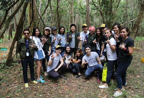 กลุ่มสตรีนักธุรกิจ ร่วมกิจกรรมตอบแทนสังคมในโครงการปลูกป่าอาสา ที่จังหวัดนครราชสีมา