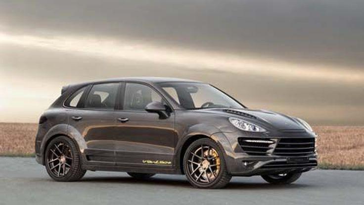 TopCar ปรับชุดแต่งตัวถัง Porsche Cayenne Vantage 2 เป็นคาร์บอนไฟเบอร์ทั้งคัน