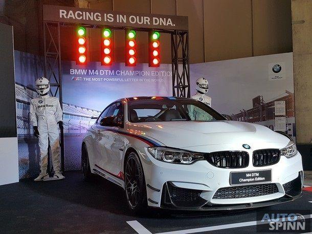 พาชม BMW M4 DTM Champion Edition สปอร์ตคูเป้ 500 แรงม้า คันเดียวในไทย กับค่าตัว 13.939 ล้านบาท !!