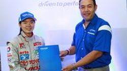 Toyo Tires ประเทศไทย ประกาศสนับสนุนสองนักแข่งรุ่นใหม่ ในการแข่งขัน Toyota Motorsport 2013