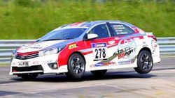 Toyo Tires สนับสนุน  Toyota Team Thailand  แข่ง 24 Hours Nurburgring