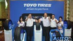 Toyo Tires เปิดตัวอย่างเป็นทางการพร้อมแนะนำยาง 5 รุ่น บุกตลาดรถยนต์ไทย