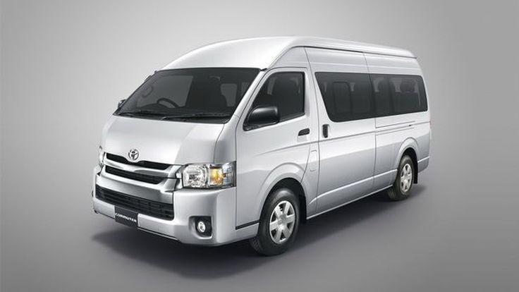Toyota แนะนำรถตู้ยอดนิยม Hiace (ไฮเอซ)และ Commuter (คอมมิวเตอร์) หลังคาสูง รุ่นปรับปรุงโฉมใหม่