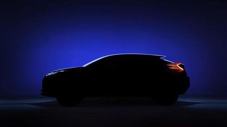 Toyota โชว์ภาพทีเซอร์ C-HR Concept รถต้นแบบปริศนาใหม่ล่าสุด