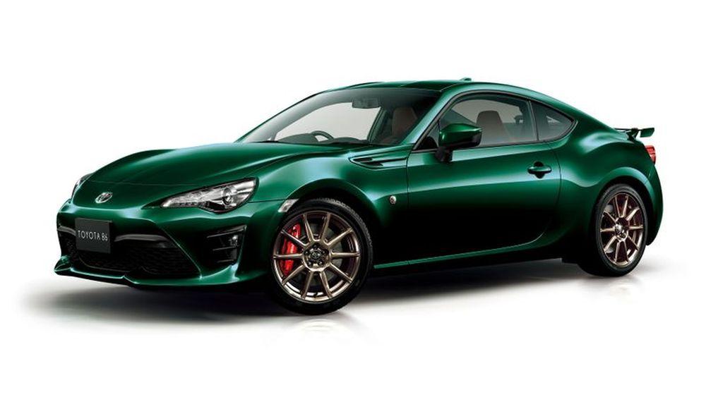 Toyota 86 สีเขียวพิเศษ British Green  จำกัดเฉพาะในประเทศญี่ปุ่นเท่านั้น