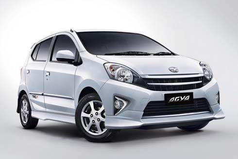 เปิดตัว 2013 Toyota Agya TRD S และ Daihatsu Ayla ที่อินโดนีเซีย