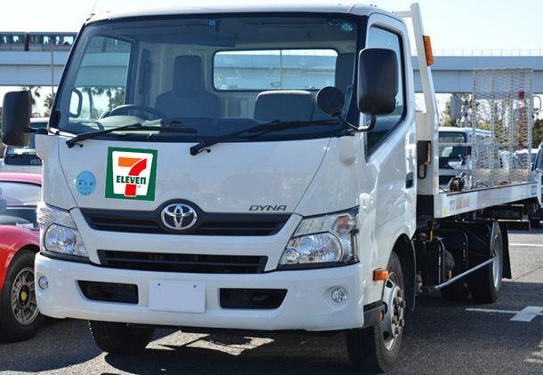 Toyota จับมือ 7-Eleven ทดสอบรถขนส่งสินค้าพลังไฮโดรเจน