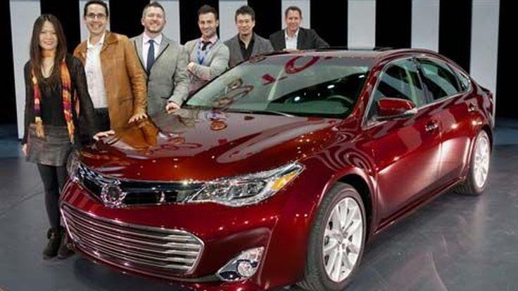 ใหม่ Toyota Avalon รุ่นปี 2013 เปิดตัวครั้งแรกที่ 2012 New York Auto Show