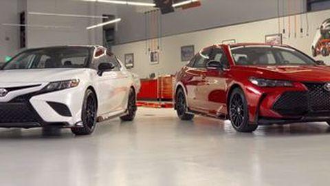 TRD แพคคู่กับ Toyota Avalon และ Camry ในแบบเวอร์ชั่น TRD