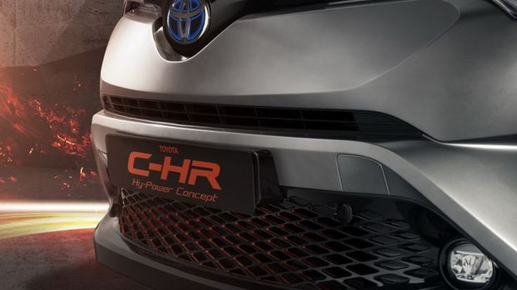 Toyota เตรียมอวดโฉม C-HR Hy-Power Concept ที่แฟรงค์เฟิร์ต
