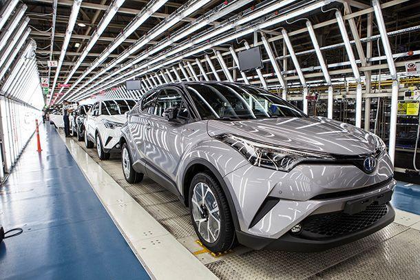 Toyota C-HR ขึ้นสายการผลิตในยุโรป