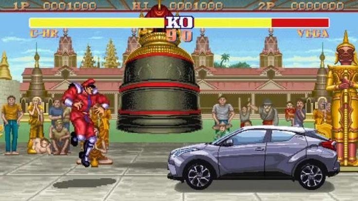 โดนใจคน 30 อัพ! Toyota ปล่อยโฆษณา C-HR ตะลุยด่านเกม Street Fighter
