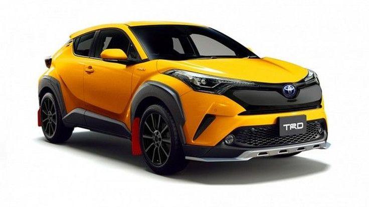เรียกน้ำย่อย !! ภาพชุด Toyota C-HR TRD กับการแต่งแบบจัดเต็ม