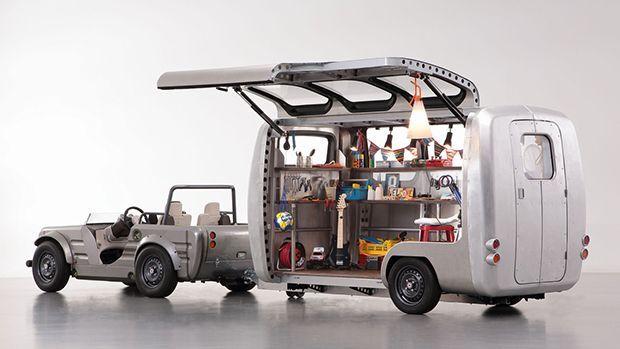 Toyota Camatte Capsule รถพ่วงต้นแบบสุดเก๋เปิดจินตนาการให้เด็ก