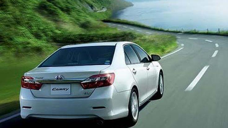 เปิดตัวแล้ว Toyota Camry Hybrid ปี 2012 เวอร์ชั่นญี่ปุ่น ราคาเริ่มต้น 3.04 ล้านเยน