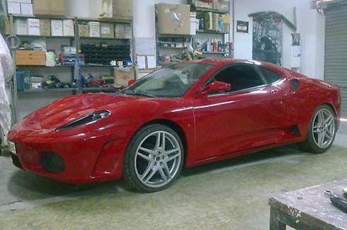 ม้าลำพองยัดไส้ซูชิ! Toyota Celica ในแบบ Ferrari F430 ประกาศขายที่ eBay