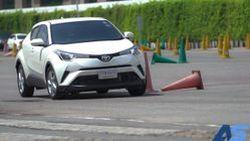 ทดสอบ Toyota C-HR Challenge บนแพลตฟอร์ม TNGA