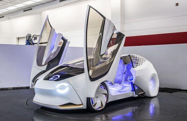 Toyota โชว์ Concept-i รถต้นแบบฉลาดล้ำ
