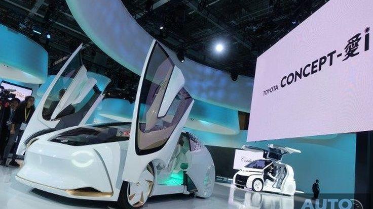 [Tokyo2017] ชมคันจริง TOYOTA Concept-i Series รถยนต์ที่สามารถจดจำและเข้าใจผู้ขับขี่แห่งโลกอนาคต