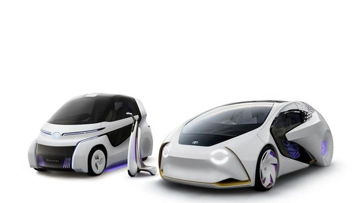 Toyota เผยโฉมรถต้นแบบปัญญาประดิษฐ์ในซีรีส์ Concept-i
