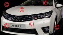 หลุดภาพ Toyota Corolla 2014 เน้นความดุดันและโฉมเฉี่ยวมากกว่าเดิม