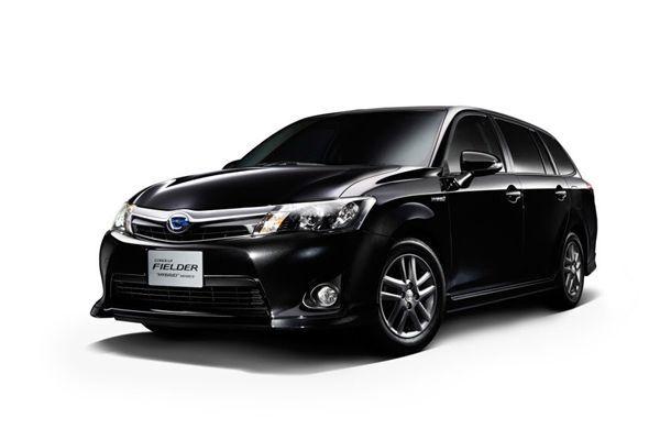 เปิดตัวฝาแฝดไฮบริด Toyota Corolla Axio และ Corolla Fielder ลุยตลาดบ้านเกิด