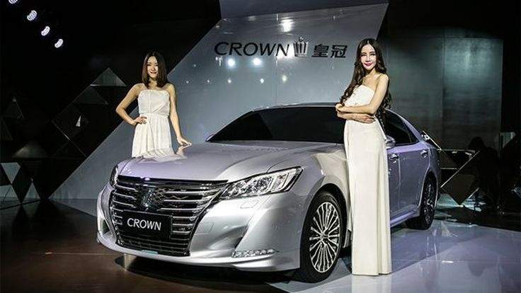 เปิดตัว Toyota Crown รุ่นปรับโฉมครั้งแรกในโลกที่เมืองจีน