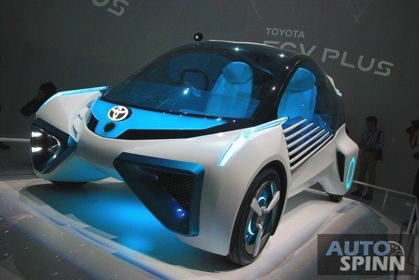 [TMS2015] พาชม โตโยต้า เอฟซีวี พลัส รถต้นแบบพลังงานไฮโดรเจน ที่เป็นมากกว่ารถยนต์