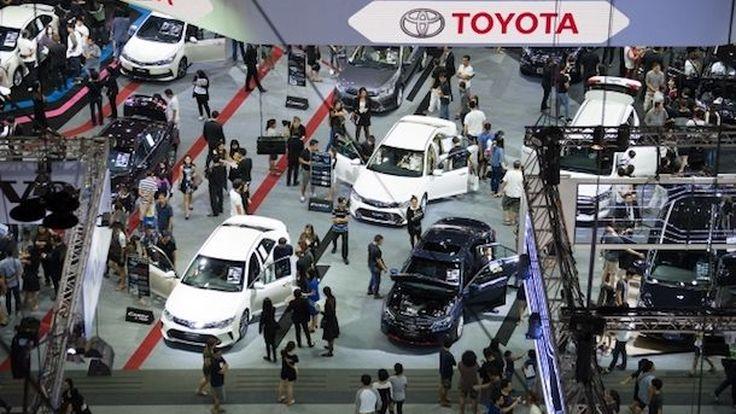 โตโยต้าคาดตลาดรถยนต์เกาะรถคันแรก ดันตลาดขยายตัวทะลุ 8 แสนคันในปีนี้
