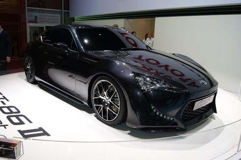 """Toyota FT-86 II Concept โฉมล่าสุดในตัวถังสีดำที่เจนีวา นี่มัน """"รถแบทแมน"""" ชัดๆ!"""