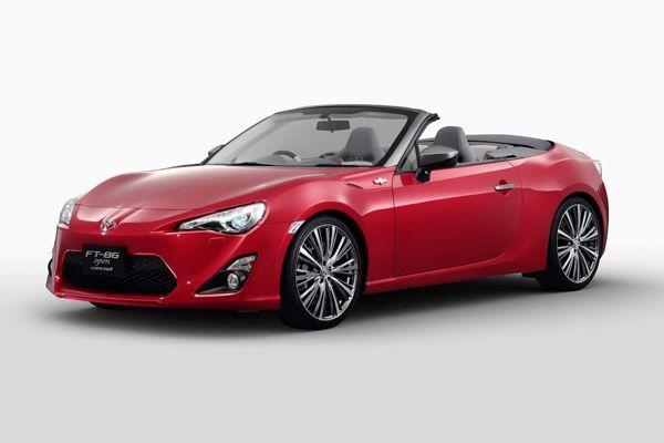 Toyota FT-86 Open Concept กลับมาอีกครั้งด้วยตัวถังสีแดง ร้อนแรงกว่าเดิม