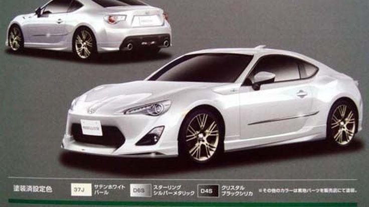 ภาพหลุดของ Toyota FT-86 โดย Modellista ก่อนเปิดตัวที่ Tokyo Motor Show