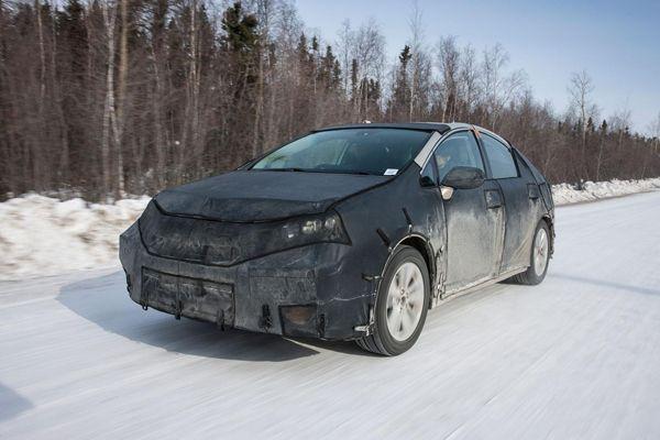 Toyota ทดสอบรถต้นแบบไฮโดรเจนฟิวเซล ท่ามกลางอุณหภูมิติดลบ