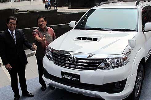 เปิดตัว Toyota Grand New Fortuner VNTurbo 2013 ที่อินโดนีเซีย