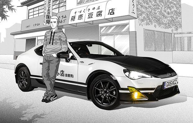 คอมังงะกรี๊ด! Toyota ส่ง GT86 Initial D เวอร์ชั่นพิเศษ