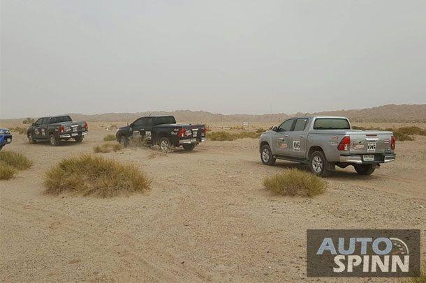 [Toyota Hilux Revo Caravan Stage 2] บททดสอบที่ 2 : ผ่านขุนเขาและทะเลทรายสุดชายแดนจีนที่คาชการ์
