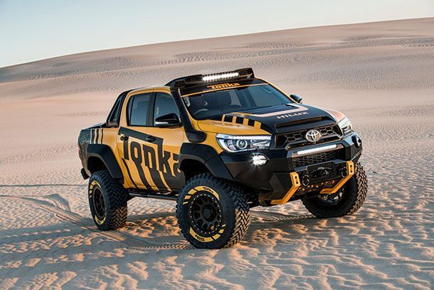 Toyota Hilux Tonka Concept รถต้นแบบตะลุยไปได้ทุกเส้นทาง