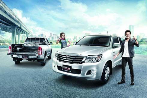 ใหม่ Toyota Hilux Vigo Champ CNG กระบะเชื้อเพลิง 2 ระบบ เริ่มที่ 6.22 แสนบาท