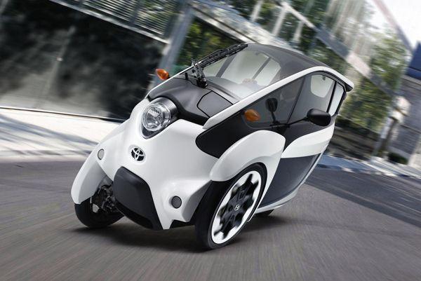 """Toyota เตรียมทดสอบรถต้นแบบ """"i-Road"""" บนถนนใจกลางกรุงโตเกียว"""