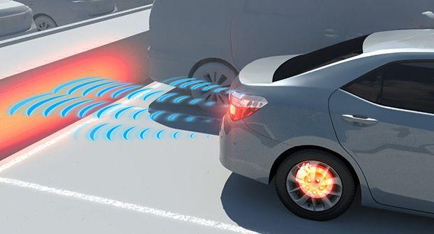 Toyota ยืนยันโซนาร์เซ็นเซอร์ช่วยเพิ่มความปลอดภัยขณะถอยจอด