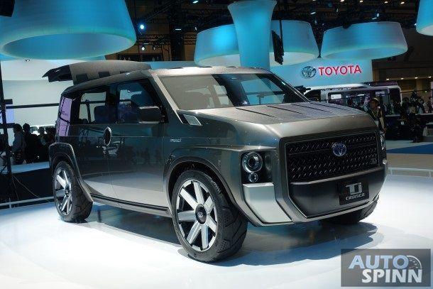 [Tokyo2017] พาชมคันจริง Toyota Tj CRUISER Concept ส่วนผสมอย่างลงตัวระหว่างรถตู้และSUV