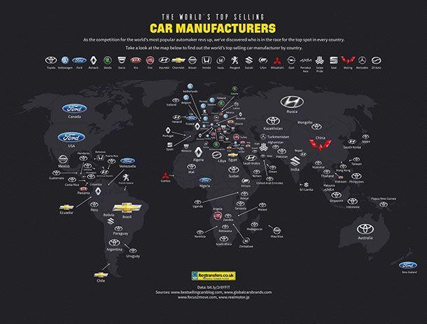 Toyota ผงาดผู้นำยอดขายใน 49 ประเทศทั่วโลก
