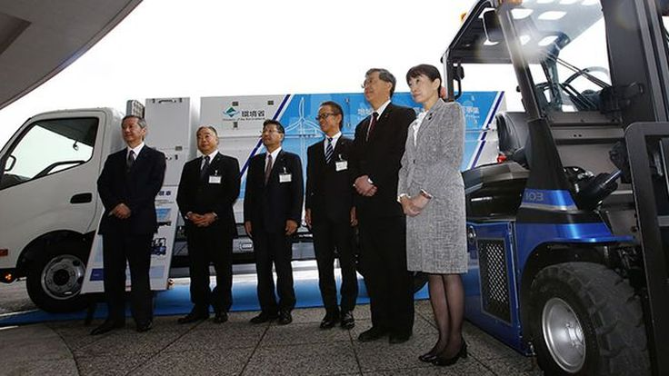 Toyota ใช้พลังงานลมสำหรับการผลิตเชื้อเพลิงไฮโดรเจนฟิวเซล
