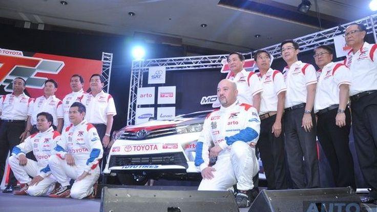 Toyota Motorsport 2014 FAST FUN FEST มาพร้อมกับรถยนต์ใหม่ Toyota Altis One Make Race ใน Class B