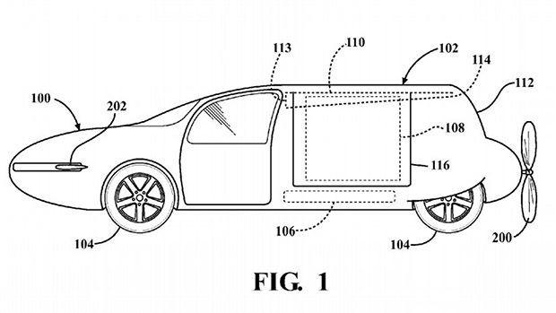 Toyota จดสิทธิบัตรรถบินได้ ตัวถังเปลี่ยนรูปตามการใช้งาน