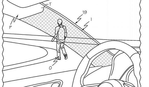 Toyota นำเสนอสิทธิบัตรเสาหลังคาหน้าโปร่งใส เพิ่มความปลอดภัย