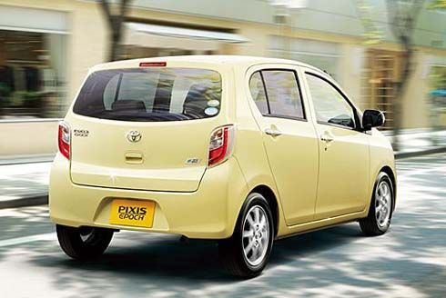Toyota เปิดตัว Pixis Epoch กินน้ำมันเพียง 30 กิโลเมตรต่อลิตร ขายที่ 7.95 แสนเยน